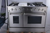Thor Kitchen 48 Dual Fuel Range 6 Burners 48 Ovens Stainless Steel