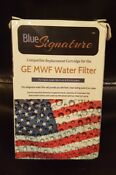 New Blue Signature Ges Mwf Refrigerator Water Filter Ge Replacement Cartridge