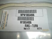 New Whirlpool Microwave Turntable Support Part Wpw10654906 Or W10654906