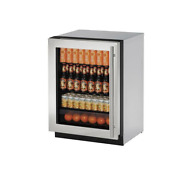 U Line U2224rgls01a 24 Stainless Built In Compact Refrigerator Nob 21294 95
