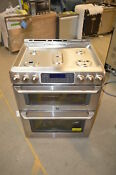 Ge Cgs990setss 30 Stainless Double Oven Slide In Gas Range Nob 21345