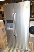 Kitchenaid Krsc503ess 36 Stainless Side By Side Refrigerator Cd 21413