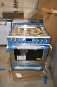 Frigidaire Fpgh3077rf 30 Stainless Freestanding Pro Gas Range Nob 21675 T2 Clw