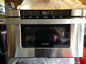 Sharp Insight Pro Series Stainless Built In 24 Inch Microwave Drawer Kb6524ps
