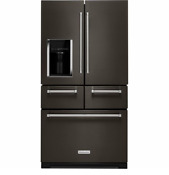 Kitchenaid Krmf706ebs 36 Black Stainless French Door Refrigerator Qty T2 22139