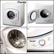 Panda Portable Dryer 3 75 Cu Ft 110v Compact Apartment Size Stainless Steel Drum