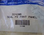Maytag Dishwasher Door Seal Part Number 314286 New