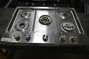 Kitchenaid Kcgs950ess 30 Stainless Gas Cooktop 5 Burners 23110