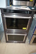 Kitchenaid Kode500ebs 30 Black Stainless Double Electric Wall Oven Nob 23096