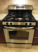 Ge 30 Free Stand Gas Range Stainless Steel Black Jgbp33set2ss Pickup Only