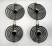 Caloric Range Burner Element Set Of 4 Tested Pn 31734606 S25169