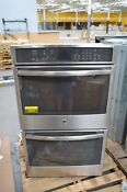 Ge Pt9550sfss 30 Stainless Double Electric Wall Oven Nob 24812 Hl