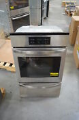 Frigidaire Ffgw2425qs 24 Stainless Single Gas Wall Oven Nob 24824 Hl