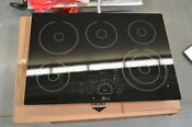 Lg Lce3010sb 30 Black Smoothtop Electric Cooktop Nob 24988 Hl