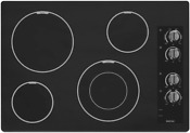 Maytag Mec7430bb 30 Black Electric Smoothtop Cooktop Nob 25348 Hl