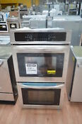 Frigidaire Ffet2726ts 27 Stainless Double Electric Wall Oven Nob 25777 Hl