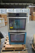 Whirlpool Wod93ec7as 27 Stainless Double Electric Wall Oven Nob 25894 Hl
