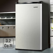 3 2 Cu Ft Mini Compact Refrigerator Top Freezer Cooler Fridge Freestanding