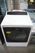 Whirlpool Wgd8000dw 29 White Front Load Gas Dryer Nob 26051 Hl