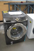 Samsung Wf45n5300av 27 Black Stainless Front Load Washer Nob 27586 Hl