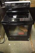 Kitchenaid Kers202bbl 30 Black Freestanding Electric Range Nob 4501 T2 Clw
