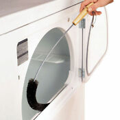 Electric Vent Gas Fire Refrigerator Lint Clothes Washing Clean Dryer Trap Brush