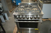 Dcs Rgv305n 30 Stainless Pro Style Convection Gas Range Nob 28547 Hl