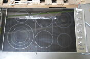 Viking Vec5366bsb 36 Stainless Smoothtop Electric Cooktop Nob 28685 Hl