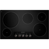 Kitchenaid Kecc664bbl 36 Black 5 Burner Electric Cooktop Nob 28829 Hl