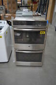 Ge Pt9550sfss 30 Stainless Double Electric Wall Oven Nob 28863 Hl