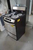 Ge Jas02snss 24 Stainless Freestanding Electric Range Nob 29307 Clw