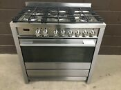 Fisher Paykel Or36sdpwgx1 36 Pro Dual Fuel Range Oven 5 Burner Stainless