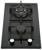 K H 2 Burner 12 Natural Gas Glass Cooktop 2 Gcw