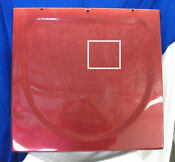 Ge Front Load Washing Machine Top Panel Ruby Red Pn Wh44x1197 Up5908
