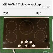 Pp 7030 Sjss Electric Cooktops Profile 30 Stainless Steel Smoothto