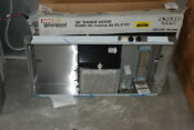 Whirlpool Uxt4236ads 36 Stainless Under Cabinet Range Hood Nob 30234 Clw