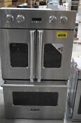 Viking Vdof730ss 30 Stainless Double Electric French Door Oven Nob 31060 Hrt