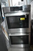 Bosch Hbn8651uc 27 Stainless Double Electric Wall Oven Nob 31897 Hrt