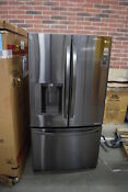 Lg Lfx25973d 36 Black Stainless French Door Refrigerator Nob 32692 Hrt