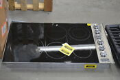 Viking Vec5366bsb 36 Stainless Electric Cooktop Nob 33248 Hrt