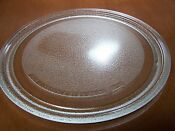 Round Glass Microwave Plate Tray 11 3 16 Wide Replacement Part H19