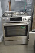 Bosch 800 Series Hgi8054uc 30 Stainless Slide In Gas Range Nob 33622 Trk