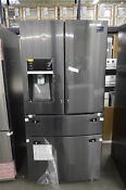 Samsung Rf25hmedbsg 36 Black Stainless French Door Refrigerator Nob 33903 Hrt