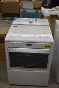 Maytag Medb765fw 27 White Front Load Electric Dryer Nob 36638 Cln