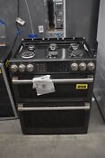 Ge Cgs995eelds 30 Black Slate Slide In Gas Range Nob 36574 Clw
