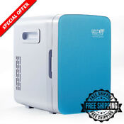 Mini Portable Thermoelectric Cooler Warmer Electric Ac Dc Camping Travel Fridge