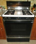 Used Ge Gas Range Oven Stove Self Cleaning Pick Up Only Norwood Ma