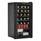 Wine Cooler 28 Bottle Freestanding Counter Top Wine Chiller Digital Display