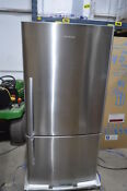 Fisher Paykel E522brx 32 Stainless Bottom Freezer Refrigerator Nob 354 Mad