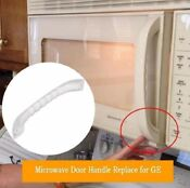 Microwave Door Pulling Handle White For Ge Spacemaker Xl Jvm1330ww 1340ww 1350ww